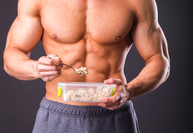 muscle building food and nutrition