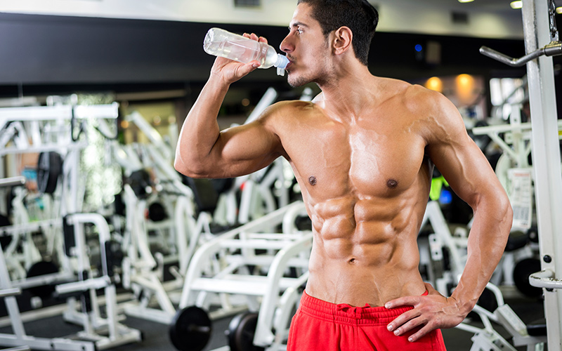hydration and water intake for muscle development